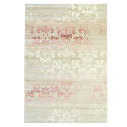Teppich Pastellrosa Pastelfarbe Ornamenten Floralen Muster Elegant Vintage Look