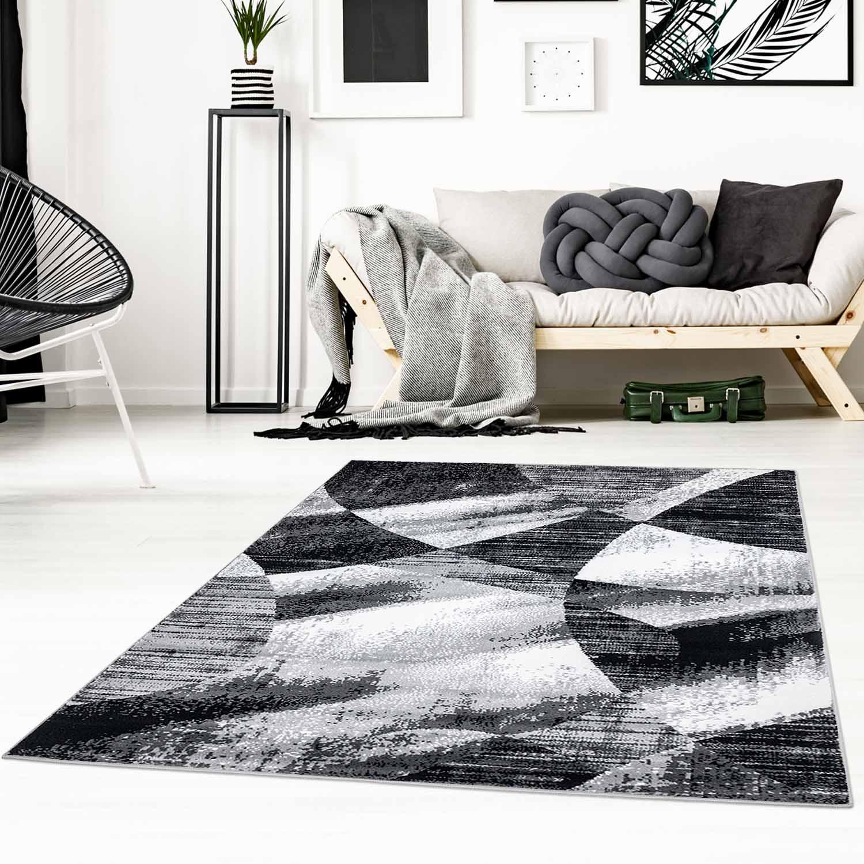 Teppich Flachflor Flachgewebe Inspiration Home Patchwork ...