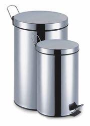 Treteimer-Set 2-Teilig Edelstahl Rostfrei 12 + 3 Liter Mülleimer