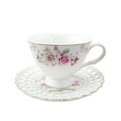 Kaffeetassen-Set 12-Teilig Kaffee-Set Kaffeeservice Porzellan Mokkatassen