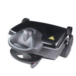 King Toaster Toastmaschine Kontaktgrill Edelstahl Cool Touch 1600 Watt Schwarz