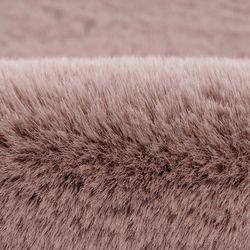 Teppich-Kunstfell Hochflor Shaggy Flauschig in Fell-Optik, SoftTouch, Einfarbig / Uni für Wohnzimmer, Schlafzimmer