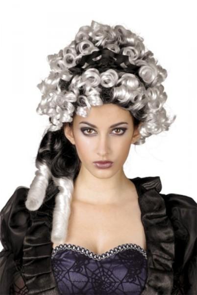 Sybill Gothic Grafin Lockenperucke Damen Barock Perucke Halloween