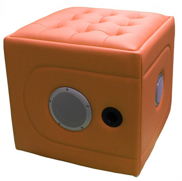Multimedia Hocker RockerCube orange