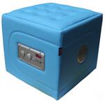 Multimedia Hocker RockerCube Blau Bild 1