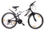 Mountain Bike 26 Zoll schwarz/weiss