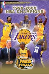 2000 NBA Basketball Champions Los Angeles Lakers DVD