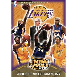 2001 NBA Basketball Champions Los Angeles Lakers DVD