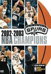 2003 NBA Champions: San Antonio Spurs - DVD