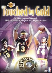 1972 NBA Championsos Los Angeles Lakers Basketball Touched by Gold DVD