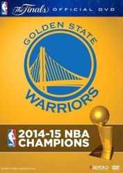 2015 NBA Champions Golden State Warriors Basketball DVD