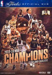 2016 NBA Champions Cleveland Cavaliers Basketball DVD