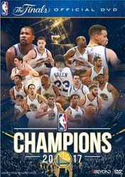 2017 NBA Champions Golden State Warriors Basketball DVD