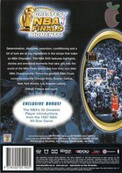 Greatest NBA Basketball Finals Moments Hardwood Classics DVD