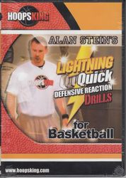 Alan Stein. Lightning Quick. Defensive Reachtion Drills - Basketball DVD
