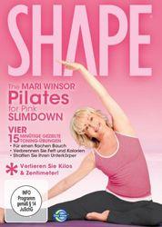 SHAPE: The Mari Winsor Pilates for Pink Slimdown (DVD)