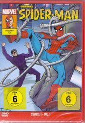 Original Spiderman Staffel 1 Volume 1 - DVD