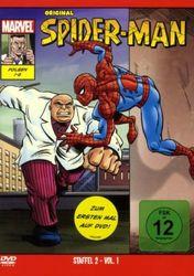 Original Spiderman Staffel 2 Volume 1 - DVD