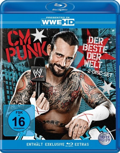 wwe wrestling cm punk der beste der welt 2 blu ray discs 5021123151788 ebay. Black Bedroom Furniture Sets. Home Design Ideas