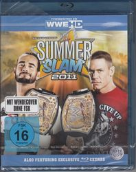 WWE Wrestling - Summer Slam 2011 (Blu-ray Disc)