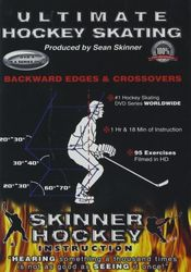 Skinner Hockey Skating #4 Backward Edges & Crossovers Eishockey instructional DVD