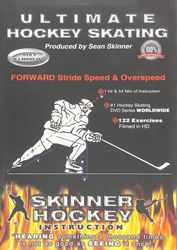 Skinner Hockey Skating #5 Forward Stride Speed & Overspeed Eishockey instructional DVD