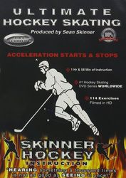 Skinner Hockey Skating #6 Acceleration Starts & Stops Eishockey instructional DVD