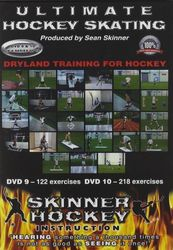 Skinner Hockey Skating #9 + #10 Dryland Training Eishockey instructional 2-DVD-Set
