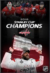 2018 NHL Stanley Cup Champions Washington Capitals Eishockey DVD
