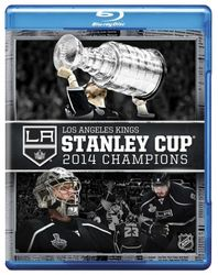 2014 Stanley Cup Champions Los Angeles Kings NHL Eishockey Blu-ray Disc