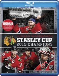2015 Stanley Cup Champions Chicago Blackhawks NHL Eishockey Blu-ray Disc