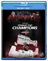 2018 Stanley Cup Champions Washington Capitals NHL Eishockey Blu-ray + DVD