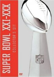 NFL American Football Super Bowl 21-30 5-DVD-Set