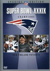 NFL Super Bowl XXXIX 39 Champions New England Patriots Football DVD