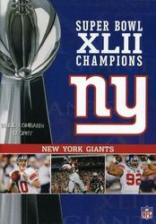 NFL Super Bowl XLII 42 Champions New York Giants Football DVD