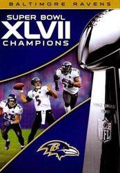 NFL Super Bowl XLVII 47 Champions Baltimore Ravens Football DVD