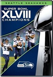 NFL Super Bowl XLVIII 48 Champions Seattle Seahawks Football DVD