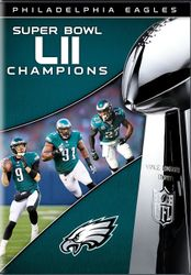 NFL Super Bowl LII 52 Champions Philadelphia Eagles Football DVD