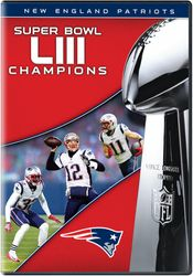 NFL Super Bowl LII 53 Champions New England Patriots Football DVD