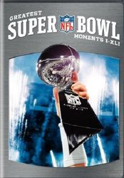 NFL Football Greatest Super Bowl Moments I-XLI 1-41 DVD