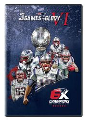 New England Patriots Super Bowl LIII 53 3 Games To Glory NFL Football 3-DVD-Set