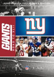 New York Giants The Road to Super Bowl XLII 42 NFL Football 5-DVD-Set