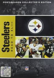 Pittsburgh Steelers The Road to Super Bowl XLIII 43 NFL Football 4-DVD-Set