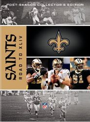 New Orleans Saints The Road to Super Bowl XLIV 44 NFL Football 4-DVD-Set