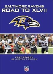 Baltimore Ravens The Road to Super Bowl XLVII 47 NFL Football 4-DVD-Set