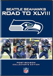 Seattle Seahawks The Road to Super Bowl XLVIII 48 NFL Football 4-DVD-Set
