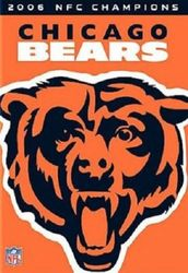 Chicago Bears 2006 NFC Champions NFL Football DVD