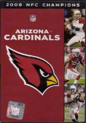 Arizona Cardinals 2008 NFC Champions NFL Football DVD