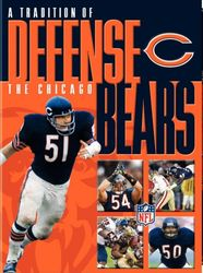 Chicago Bears a Tradition Of Defense NFL Football 2 DVD Set
