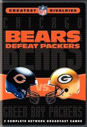 NFL Football Rivalries Chicago Bears defeat Green Bay Packers 3 DVD Set